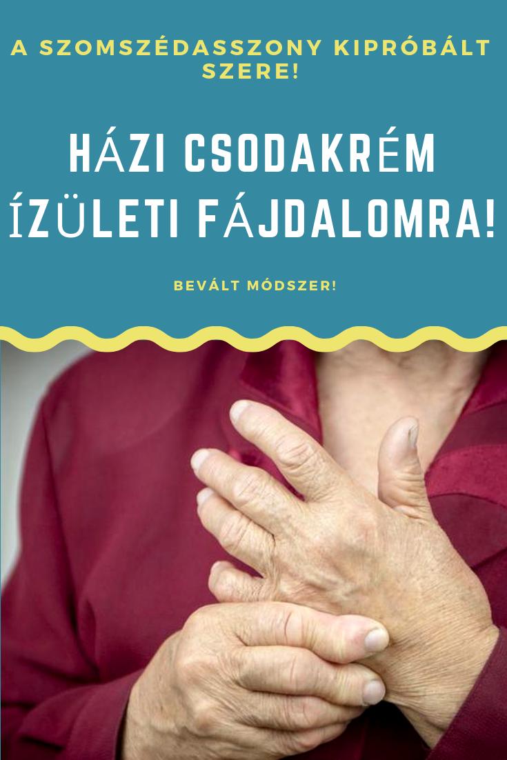 ízületi fájdalom tanulmányozása)