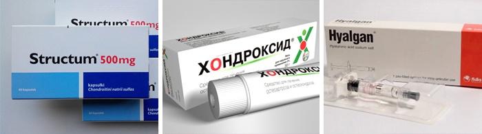 kenőcsök chondroprotektorok ízületekhez)