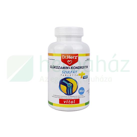 kondroitin-glükozamin tabletta