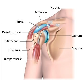 a bursitis gyulladása)