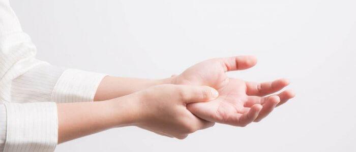kúpok az ujjain ízületi gyulladás