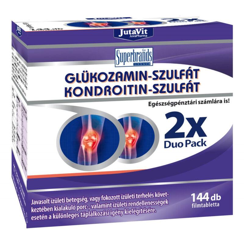 mennyi kondroitin és glükózamin szükséges naponta)