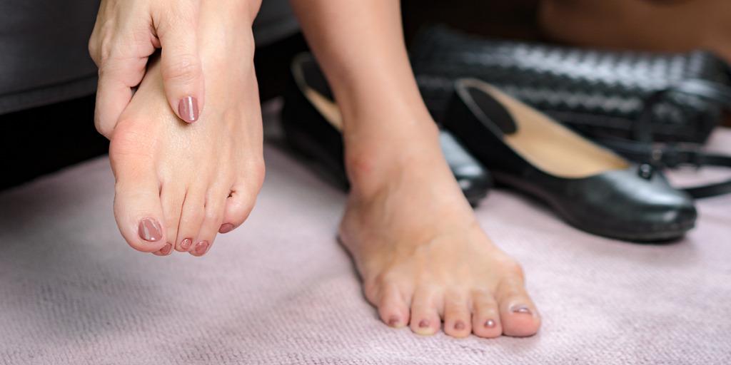 probléma a láb nagy ízületével