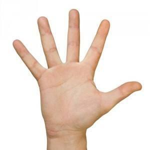 oktatás az ujjak ízületein