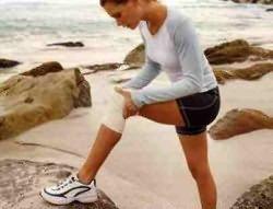 térdfájdalom, csípőízület artrózisával)
