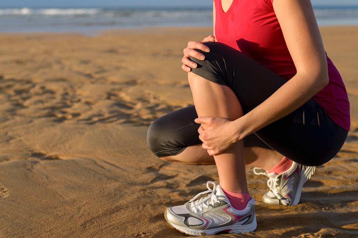 fáj a boka ízületét futás közben