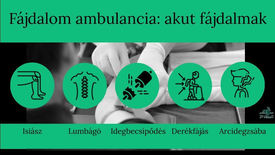 Komplex fájdalom ambulancia | CMC Déli Klinika | Ellátások 54 szakterületen