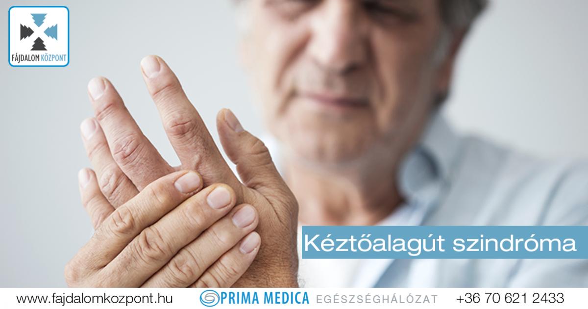 a középső ujj falának ízülete fáj