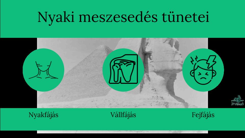 nyaki csigolyák ízületi tünetei kezelése)