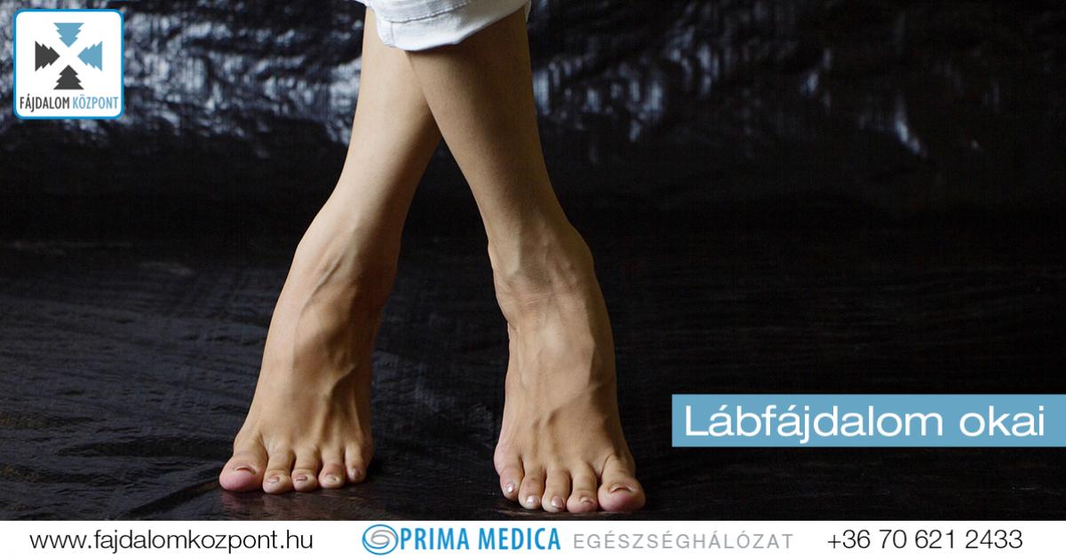 lábízületi fájdalom a láb közelében