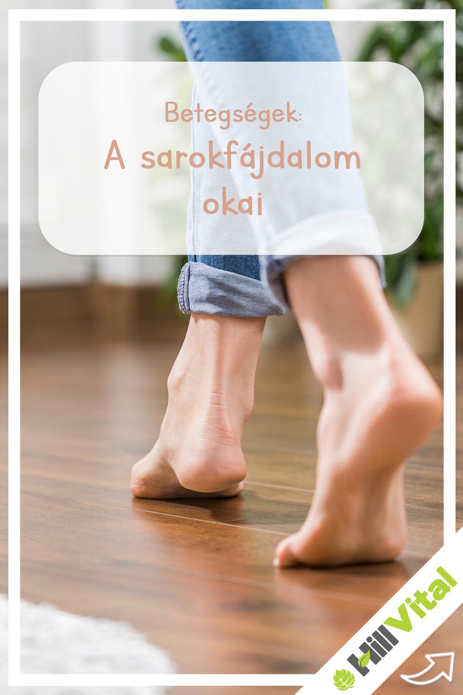 a lábak ízületei fájnak a cipőből)