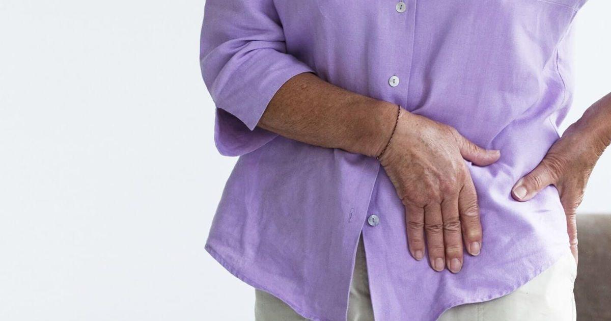 csípőgyulladás és fájdalom