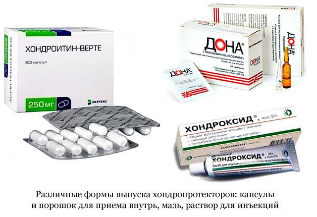 chondroprotektorok ízületek gyógyszeres listájához)