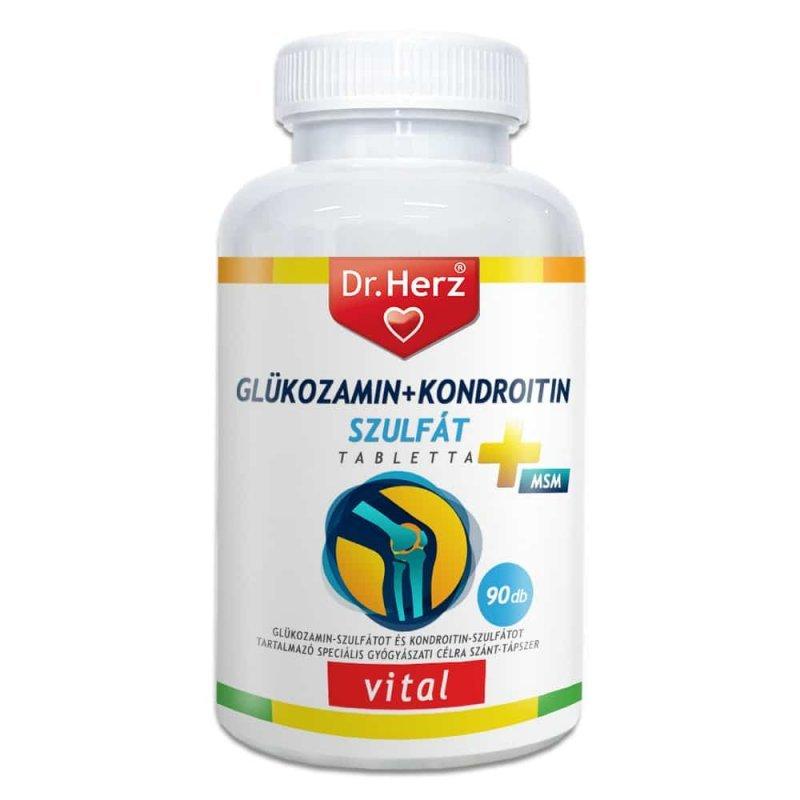 vitaminok glükózamin-kondroitinnel)