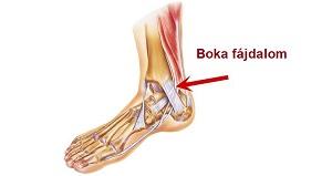 boka fájdalom csillapítása