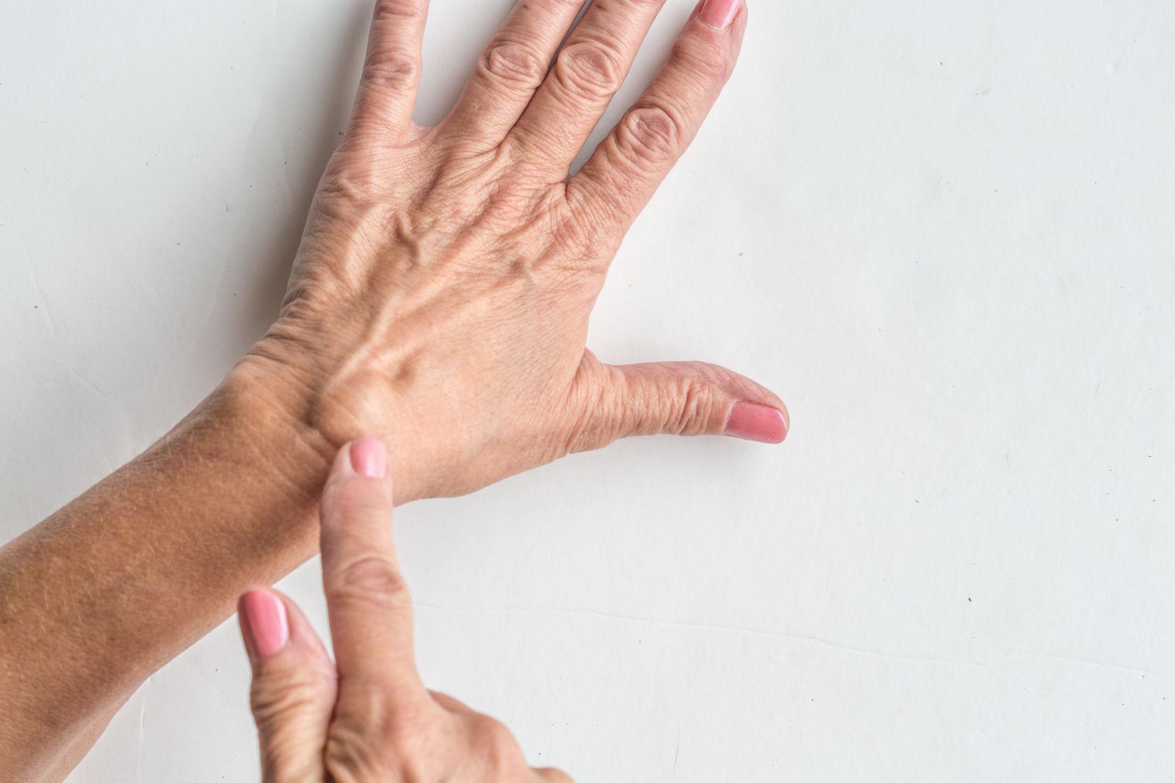 csukló-ín ganglion kezelés ízületi sérülések osztályozása
