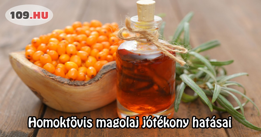 Homoktövis olaj