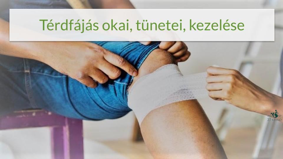 térdízület oldalsó ínszalagjának kezelése)
