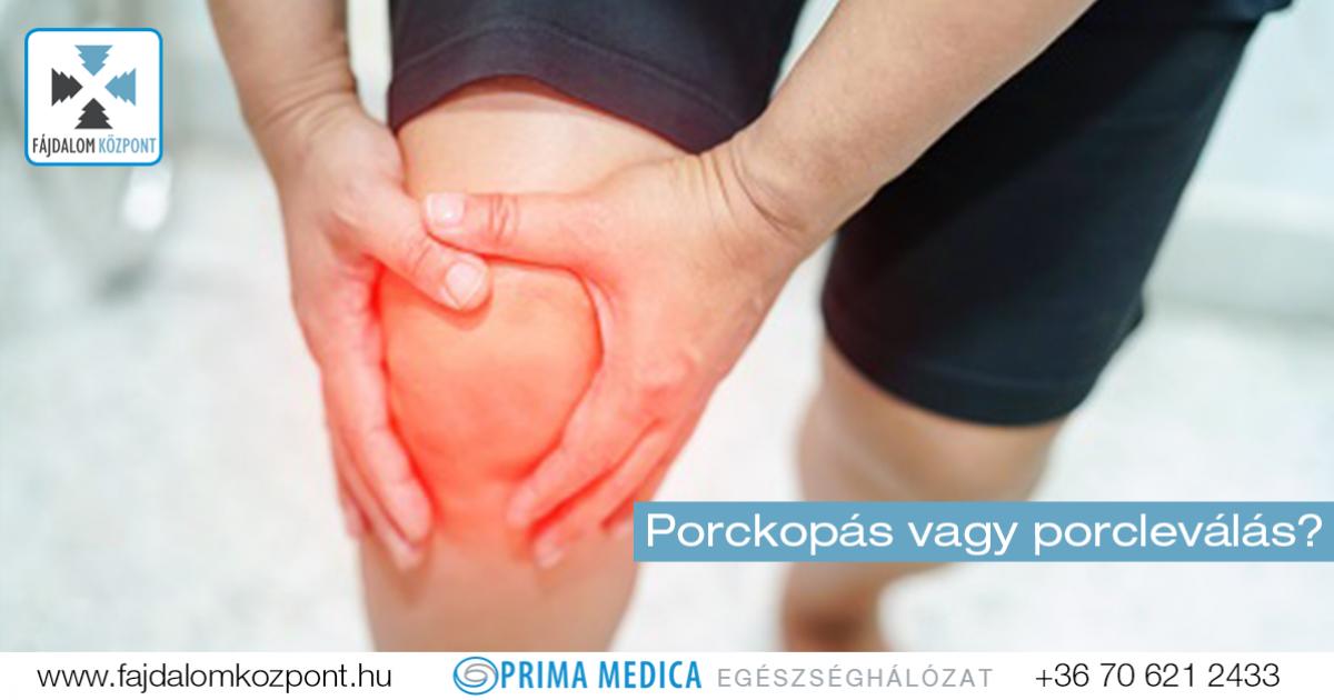 porcpusztulás a térdízület kezelésében fájdalom a jobb kéz hüvelykujjának ízületeiben