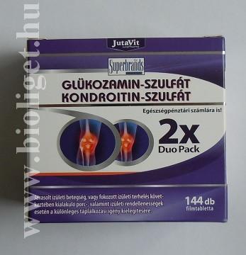 glukózamin kondroitin összetételű