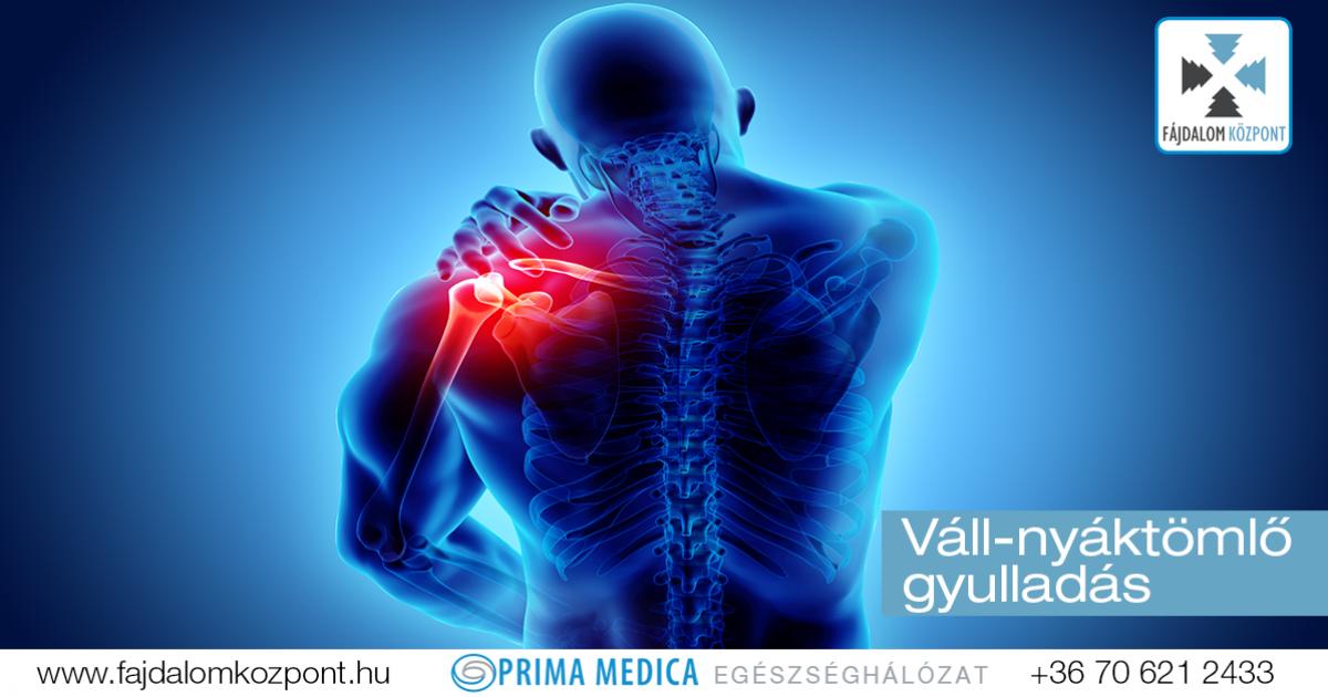 fájdalom a nyaki és a vállízület között