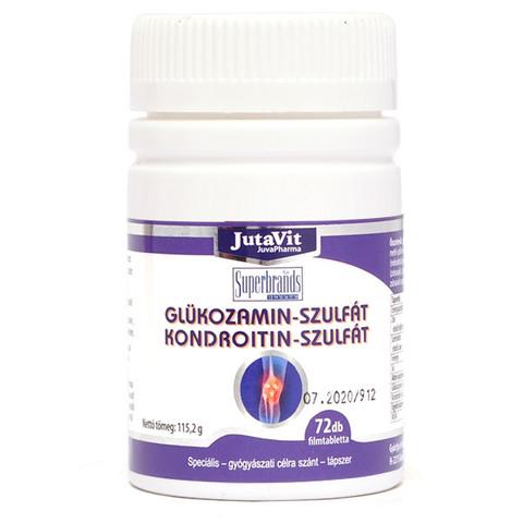 glükozamin készítmények kondroitinnal gyulladásgátló kenőcsök méhnyakcsonti osteochondrozishoz