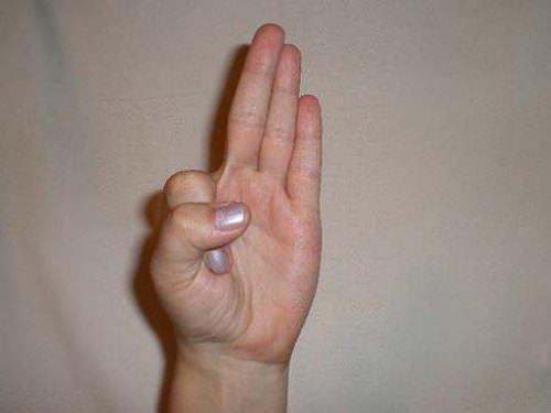 hogyan kell kezelni az ujjak ízületeit, ne hajlítsa meg