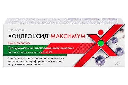 készítmények kondroxiddal és glükózaminnal)