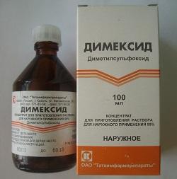 ízületi fájdalom dimexidum