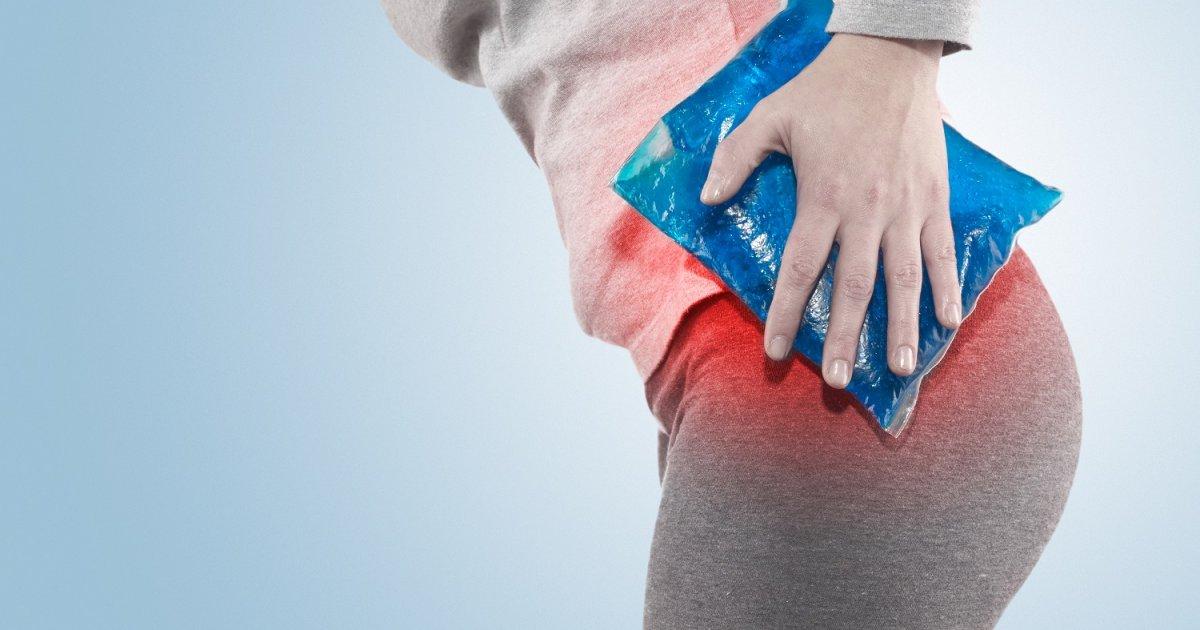 hirtelen fájdalom a csípőízületben