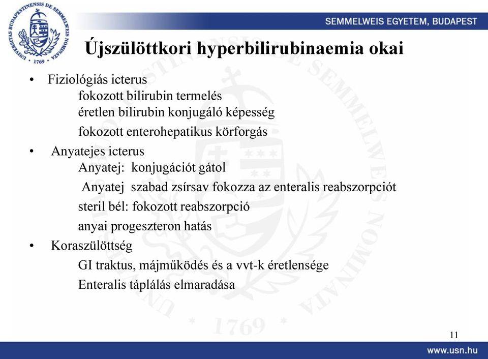 fokozott bilirubin ízületi fájdalom)