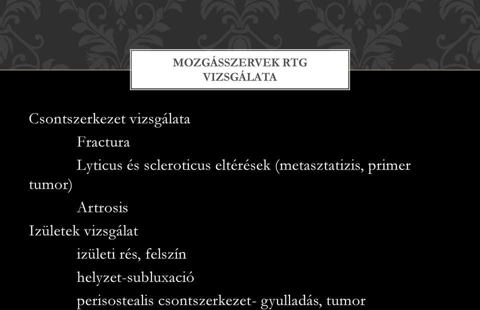 az ízületek és a gerinc betegségeiben triomed)