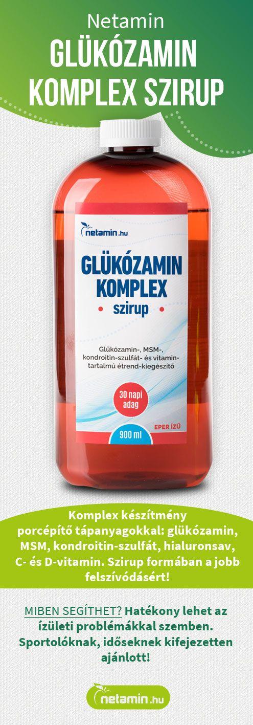 Glükozamin, kondroitin, msm + csipkebogyó