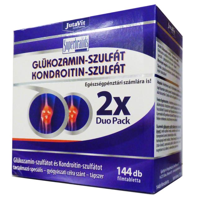 gyógyszerek kondroitin és glükózamin mellett